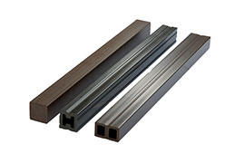 substructure 25mm x 135mm Hollow WPC Decking
