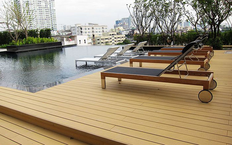 WPC-pool-decking Projects