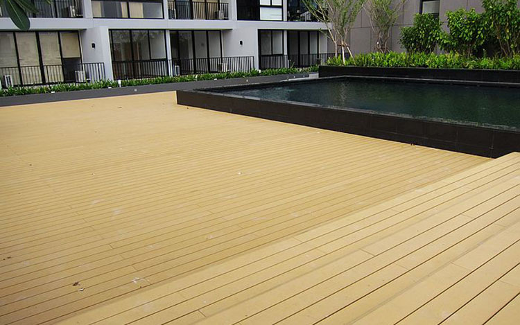 WPC Decking Sizes and Dimension