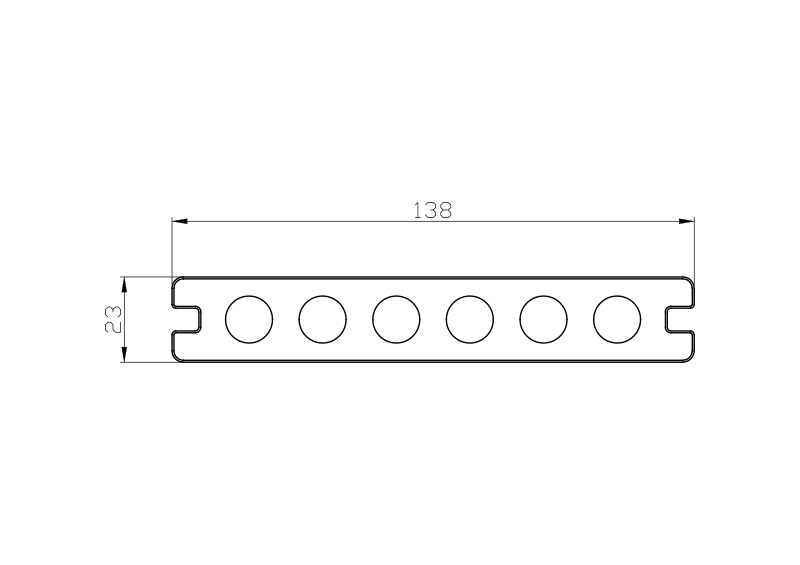 23mm-x-138mm-Capped-Hollow-Composite-Decking-size 23mm x 138mm Capped Hollow Composite Decking