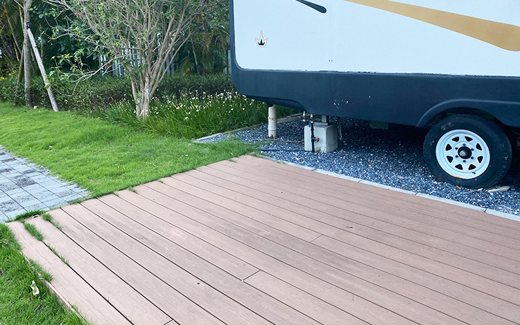 build a moveable RV decking