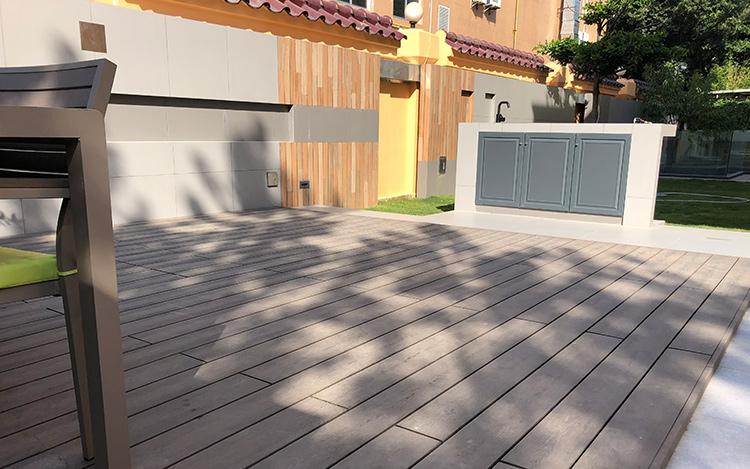 Composite Deck Over Concrete Patio