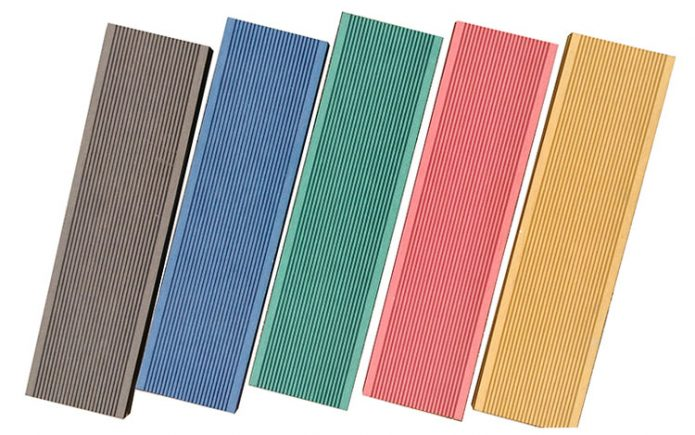 Difference between solid and hollow WPC decking material