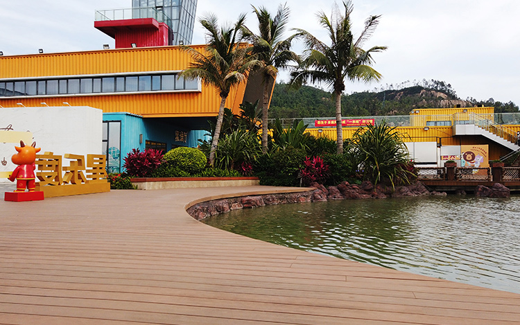 Park Landscape Terrace WPC Decking